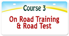 Course 3 - On Road Training & Road Test